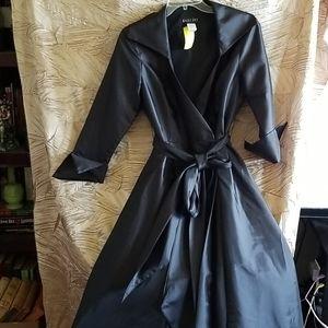 Bari jay tea dress black